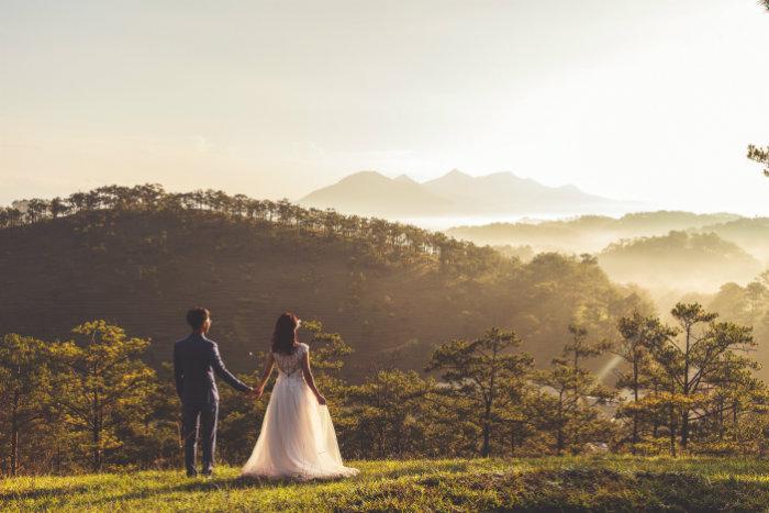 mariage nature